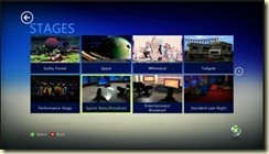 avatar kinect stages